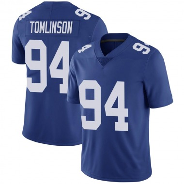 Men's Nike New York Giants Dalvin Tomlinson Team Color Vapor Untouchable Jersey - Royal Limited
