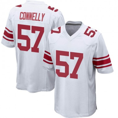 Men's Nike New York Giants Ryan Connelly Jersey - White Game