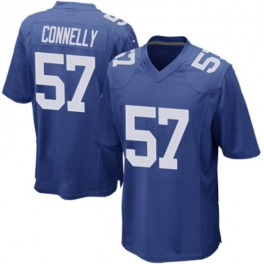 Men's Nike New York Giants Ryan Connelly Team Color Jersey - Royal Game