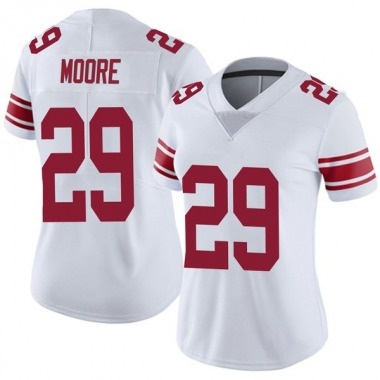 Women's Nike New York Giants Kamrin Moore Vapor Untouchable Jersey - White Limited