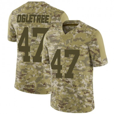 Youth Nike New York Giants Alec Ogletree 2018 Salute to Service Jersey - Camo Limited