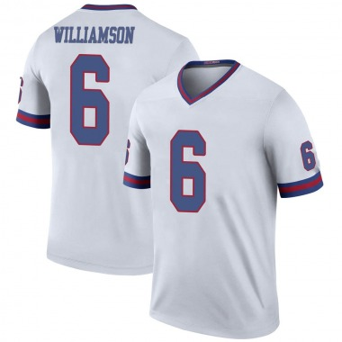 Youth Nike New York Giants Chris Williamson Color Rush Jersey - White Legend