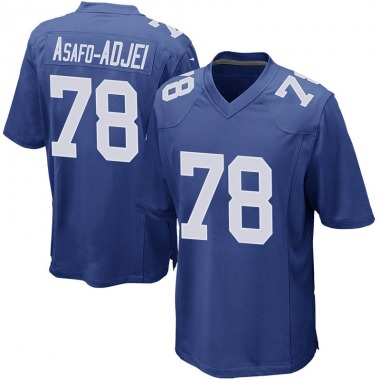 Youth Nike New York Giants George Asafo-Adjei Team Color Jersey - Royal Game