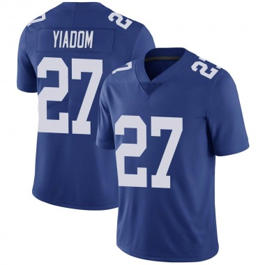 Youth Nike New York Giants Isaac Yiadom Team Color Vapor Untouchable Jersey - Royal Limited