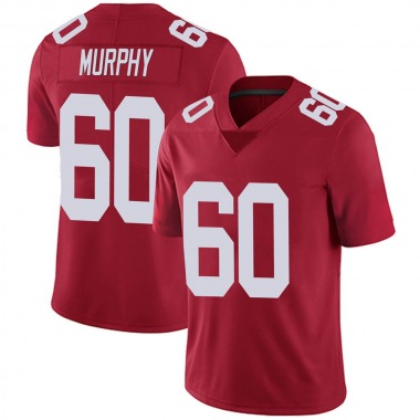 Youth Nike New York Giants Kyle Murphy Alternate Vapor Untouchable Jersey - Red Limited