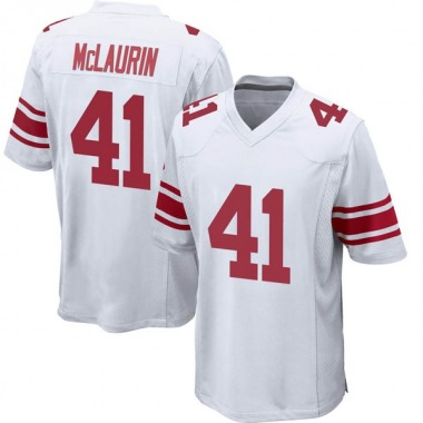 Youth Nike New York Giants Mark McLaurin Jersey - White Game