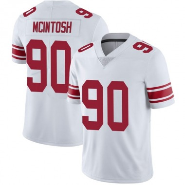 Youth Nike New York Giants RJ McIntosh Vapor Untouchable Jersey - White Limited